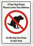 DogPoopSign
