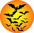 Halloween-BatsMoon